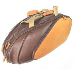 Wilson Leather 6 Pack Tennis Racquet Bag