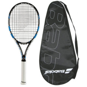 Babolat 2015-2016 Pure Drive STRUNG with COVER Tennis Racquet
