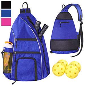LLYWCM Sports Pickleball Sling Backpack