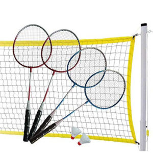 MD Sports Complete Badminton Set