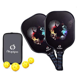 Niupipo Graphite Pickleball Paddles with Honeycomb Core