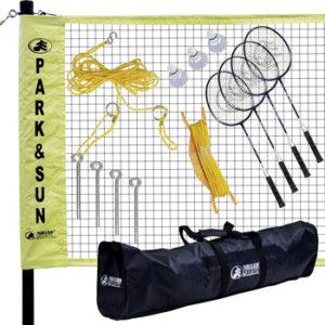 Park & Sun Sports Portable Indoor/Outdoor Badminton Net System