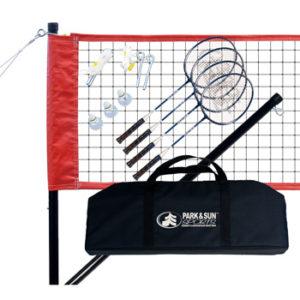 Park & Sun Sports Portable Outdoor Badminton Net System