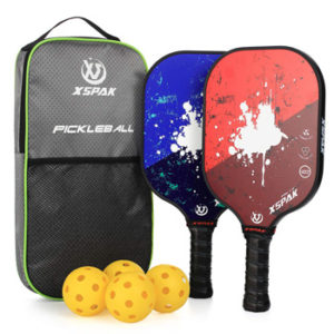 XS XSPAK Graphite Pickleball Paddle Set with Honeycomb Core
